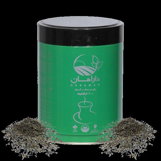 تصویر چای ارگانیک سبز ممتاز دارامان