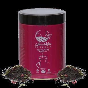 تصویر چای ترش و شیرین دارامان 250گرمی