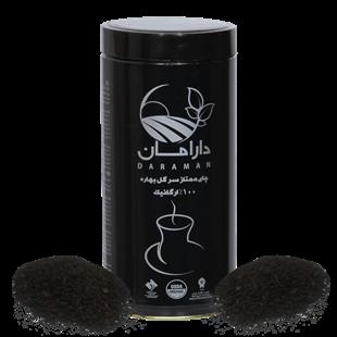 تصویر چای سیاه سرگل ارگانیک دارامان