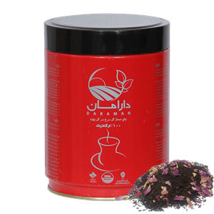 تصویر چای ممتاز گل سرخ ارگانیک 250 گرمی