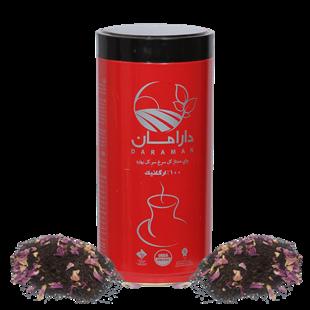 تصویر چای ارگانیک گل سرخ دارامان 450گرم