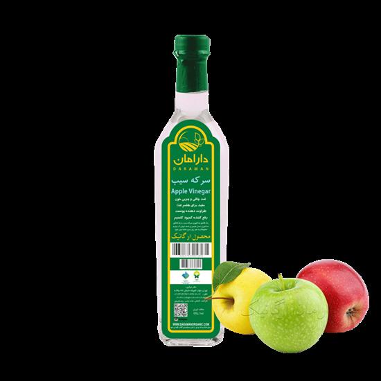 تصویر سرکه سیب ارگانیک