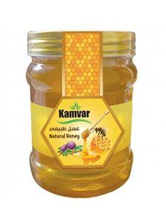 تصویر عسل طبیعی و رژیمی یک کیلویی کامور