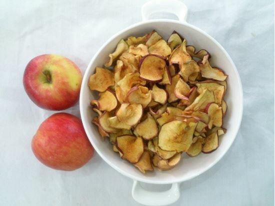 تصویر سیب خشک