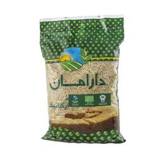 تصویر برنج قهوه ای ارگانیک دارامان   900 گرم